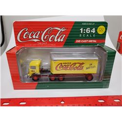 1:64 scale die cast Coca Cola Mack Model C.J. 1991