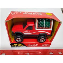 1989 Steel Coca-Cola delivery truck