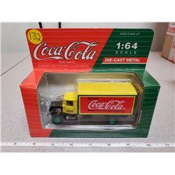 "1:64 scale die cast Coca-Cola ""Mack model B.M."" 1991"