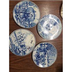 Set Vintage Decorative Plates