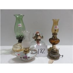4 Decorative perfume lamps