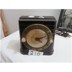 5 x 5 Telechrome switch alarm clock - electric