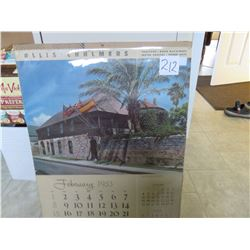 1953 Allis Chalmers calendar 18 x 24