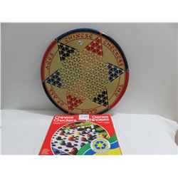 two Chinese Checkers games comes with marbles and rules