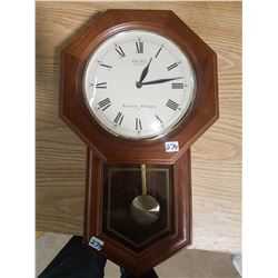Seiko Quartz Chiming Pendulum Clock