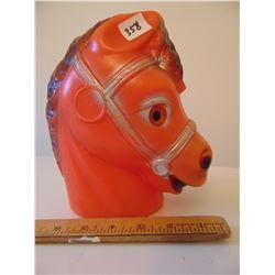 REGAL SCARRY HORSE HEAD COIN BANK