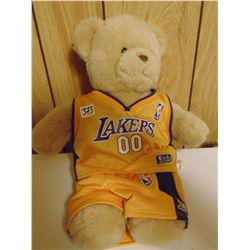 BUILD A BEAR WORKSHOP NBA LAKERS OO OUTFIT