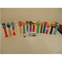 16 FEETED PEZ