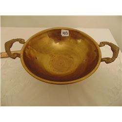 SOLID BRASS BOWL