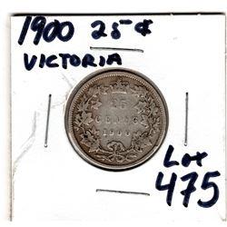 1900 Victoria 25¢
