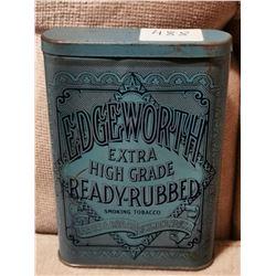 Edgeworth Pocket Tobacco Tin Can