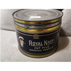 Royal Navy Tobacco Tin Can
