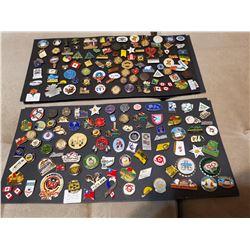 2 Full Displays of Pins