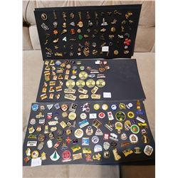 2½ Full Displays of Pins