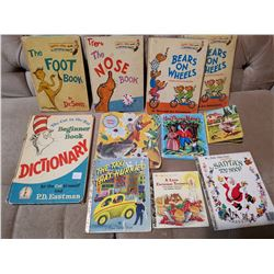 Vintage Dr. Seuss and Other Childrens Books