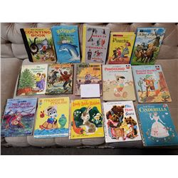 6 Hard Cover & 9 Other Childrens Books