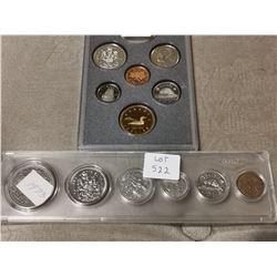 1973 & 1992 Canada Coin Sets