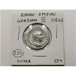 Very High Grade Silver Roman Coin