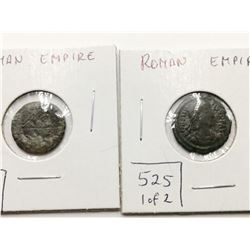 Two Ancient Roman Empire Coins