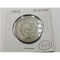 1902 D Morgan Silver Dollar