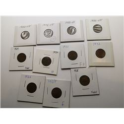 Highgrade One Cent Coins From 1926 to 1936