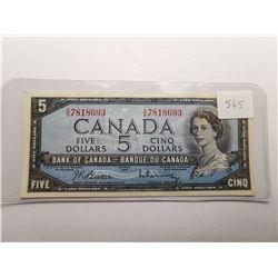 1954 $5 Bill