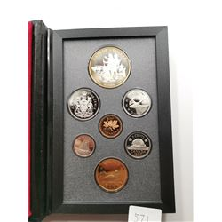 1990 Canada Proof Set with Silver Dollar