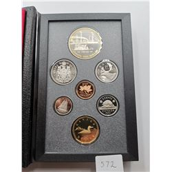 1991 Canada Proof Set with Silver Dollar