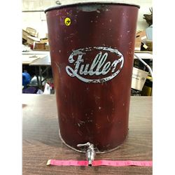 Vintage Puller Tin Shower Pail/Tub