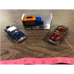 (3) 1/43 Scale Diecast Cars