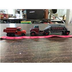 (2) Match Box Diecast Trucks