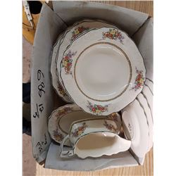 Box of Dishes - Made in England