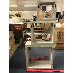 "Christmas Decretive ""Shelf"" Item (wooden)"