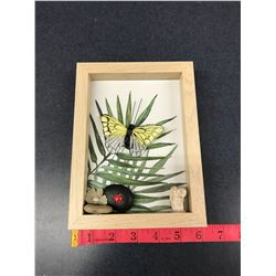 Butterfly Picture With Frame