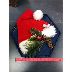 Santa Hat Hanging Christmas Item