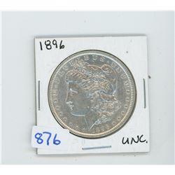 1896 American Silver Dollar