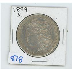 1899 American Silver Dollar