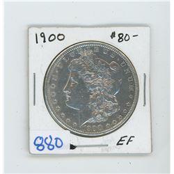 1900 American Silver Dollar