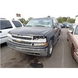 2001 Chevrolet Tahoe