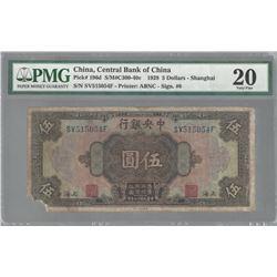 China P-196d 1928 $5