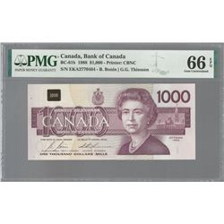 Bank of Canada BC-61b 1988 $1,000 GEM66 EPQ PMG