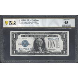 USA Fr.1604 1928 $1 EF45 PCGS
