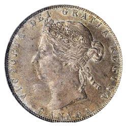 Canada 1881H 50 cents AU58 PCGS