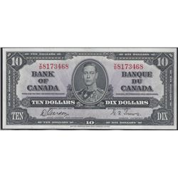 Bank of Canada BC-24b 1937 $10 CHUNC64