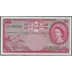 Caribbean 1958 $1 AU+