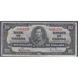 Bank of Canada BC-24b 1937 $10 AU/UNC