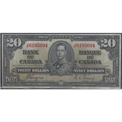 Bank of Canada BC-25c 1937 $20 EF+