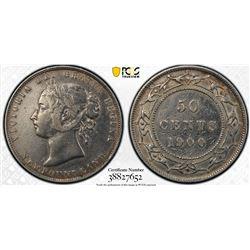 Newfoundland 1900 50 cents VF details PCGS