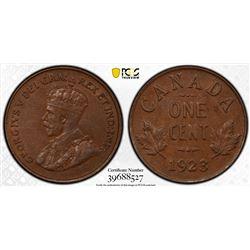 Canada 1923 1 cents AU58 PCGS