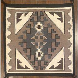 Navajo Two Grey Hills Weaving